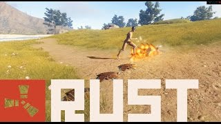 Rust Update 67: Landmines, Bone Club, & Riot  Helmet