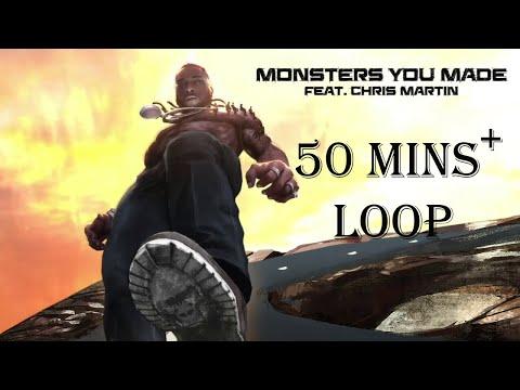 Burna Boy - Monsters You Made (feat. Chris Martin)| 50 Mins Loop indir
