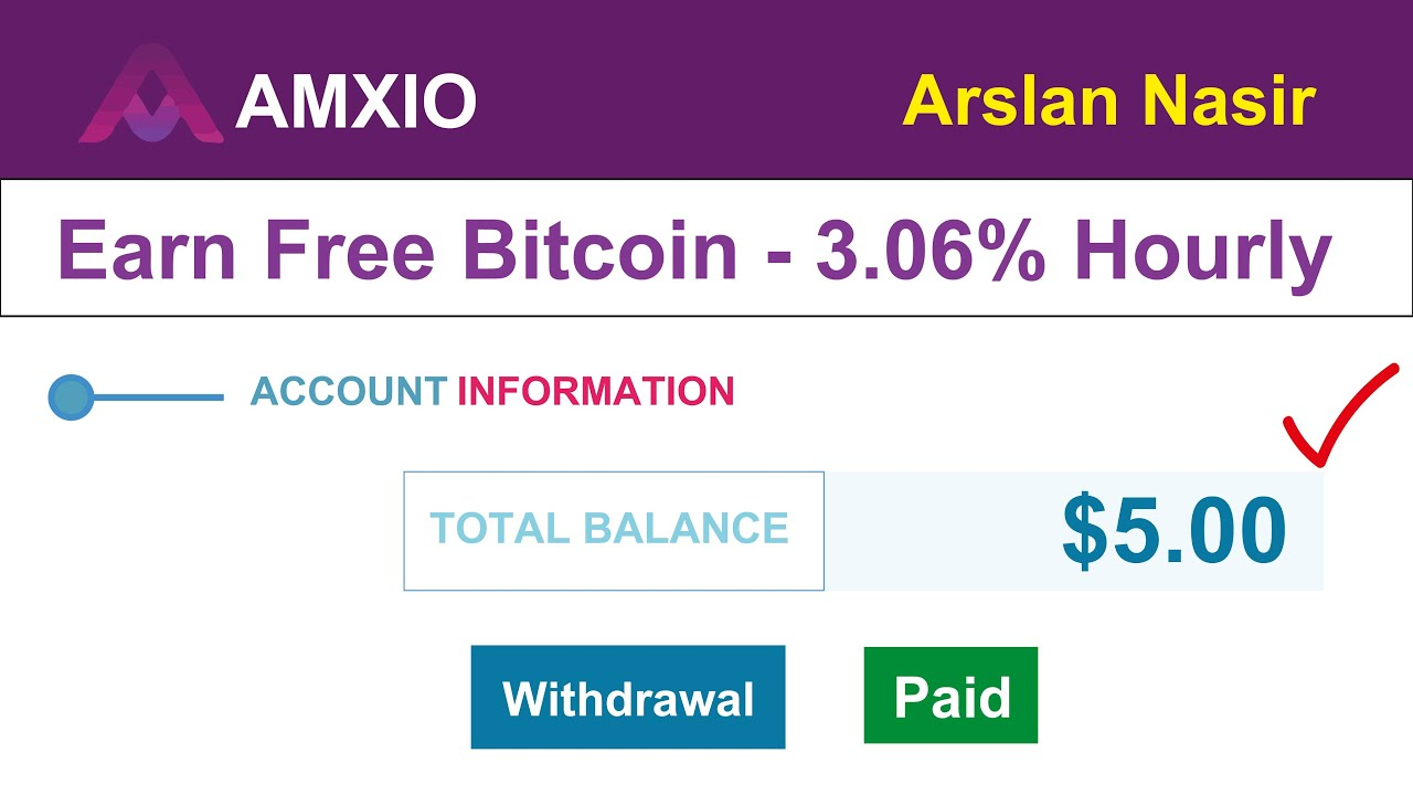 Amixo | Earn Free Bitcoin - Hourly 3.6% Live $5 Withdrawal Payment ...