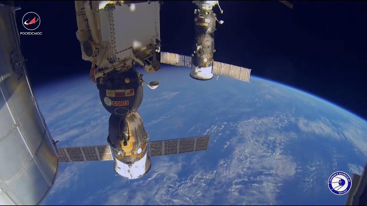 «У нашей Родины космическое будущее»: члены экипажа МКС поздравили Россию с Днём народного единства