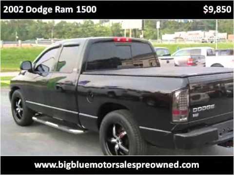2002 dodge ram 1500 used cars barboursville wv youtube for Big blue motors barboursville wv