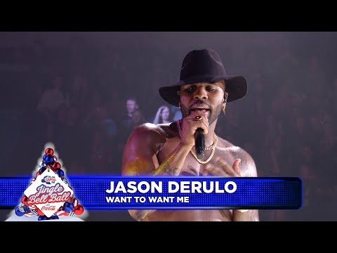 Jason Derulo - 'Want To Want Me' (Live at Capital's Jingle Bell Ball)