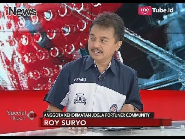 Komentar Roy Suryo Mengenai Kejanggalan Pada Kecelakaan Setya Novanto - Breaking News 17/11