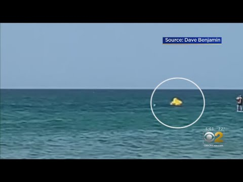 Lance Houston - Toddler Rescued After Drifting Out at Michigan City Beach
