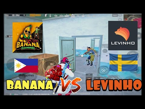 FIGHTING THE MOST POPULAR PUBG MOBILE PLAYER IN THE WORLD | LEVINHO VS BANANA