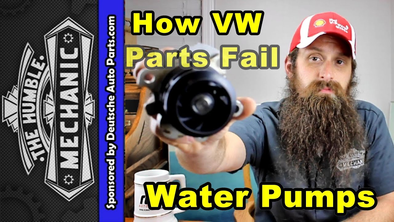 How Vw Water Pumps Fail Youtube 02 Jetta Vr6 Coolant Diagram Wiring Schematic