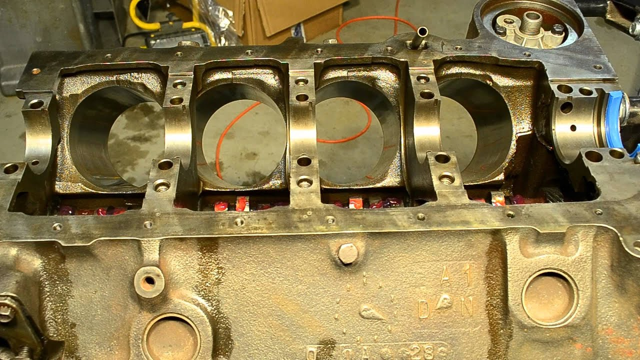 Camshaft and Crankshaft Installation Part 1 - Building a Small Block Chevy Part 3 - YouTube