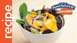 Peanut Butter Carrot Ginger Salad Dressing Recipe