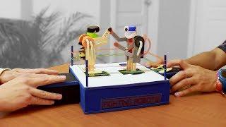 Como Hacer Robots de Pelea con Palitos de Helado