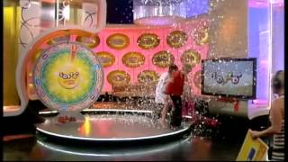 Lotto - Fright causes Winning Wheel Winner to Collapse on Stage - 22nd Dec 2012