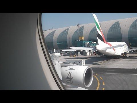 EMIRATES A380 EK97 DUBAI ROME FIRST CLASS 28.10.14