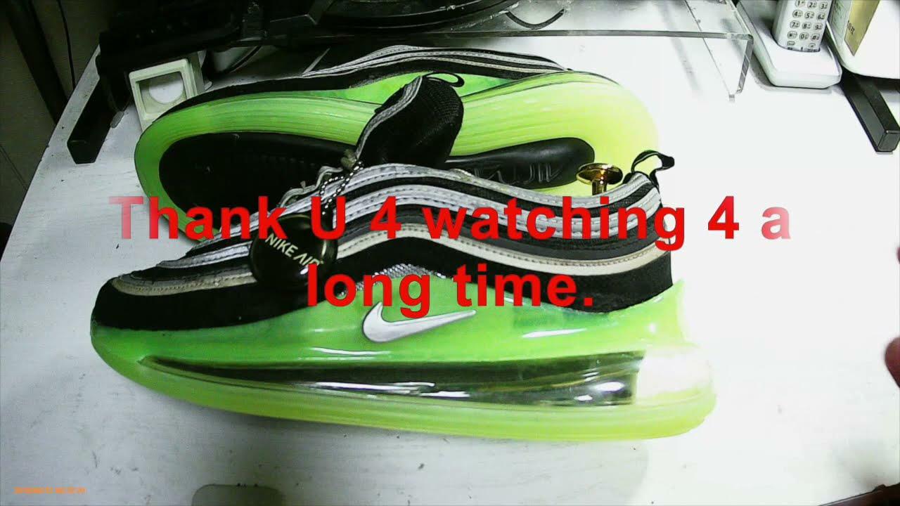 Nike Air Max Repair (with tire plug)