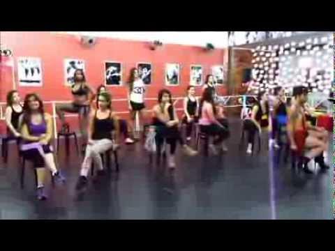 video aula de dana aerobica