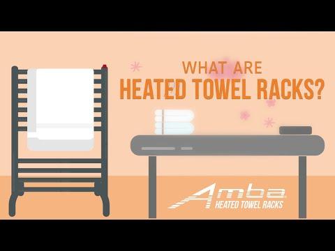 What Are Heated Towel Racks?