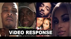 Ti Checks Kodak Black for Wanting Lauren London Amid Nipsey Hussle, He Tried it! ✔️ Video