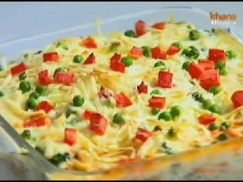 Baked bread vegetable pudding sanjeev kapoor khana khazana baked bread vegetable pudding sanjeev kapoor khana khazana youtube forumfinder Choice Image