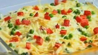 Baked Bread & Vegetable Pudding - Sanjeev Kapoor - Khana Khazana