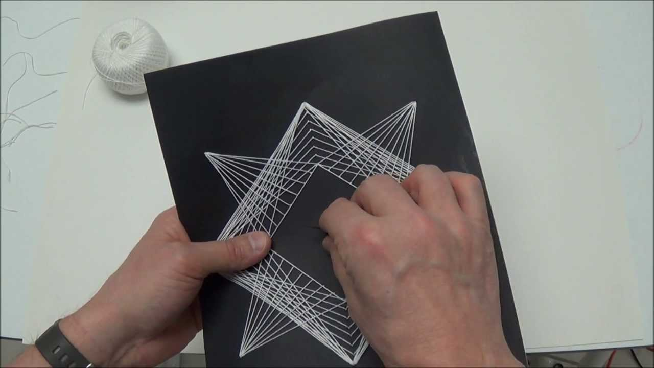 Geometric String Art - Project #107 - YouTube