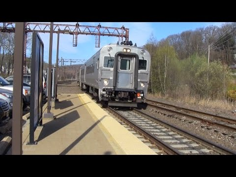 Trains at Denville 4/19/16 Part 1
