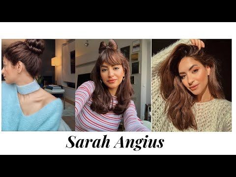 3d13b8d91e Greek Goddess updo by Sarah Angius - YouTube