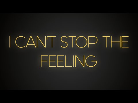 Justin Timberlake – Can't Stop The Feeling (Lyric Video)
