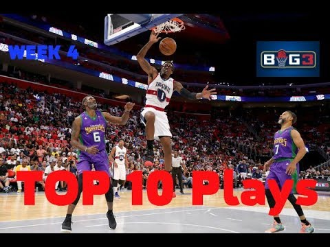 TOP 10 Plays | BIG3 Season 2018 | Week 4 (Amar'e Stoudemire is back!)