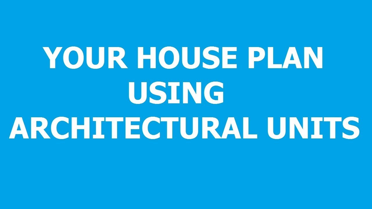 how to draw a house plan using autocad