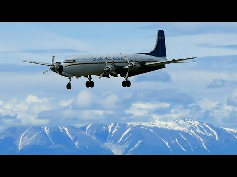 Workhorse Everts DC6 arrives in Anchorage, Alaska!  In 4K. thumbnail