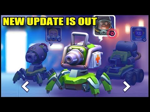 NEW UPDATE IS LIVE - TANKS A LOT - GAMEPLAY