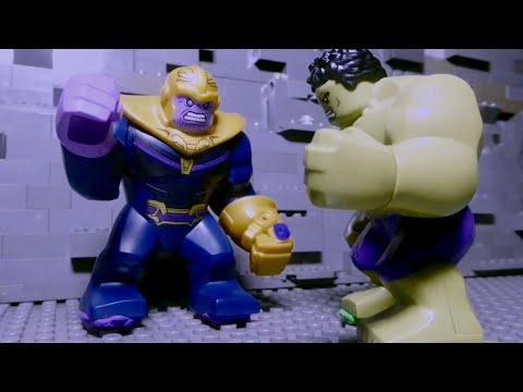 LEGO Avengers Infinity War: Hulk vs Thanos