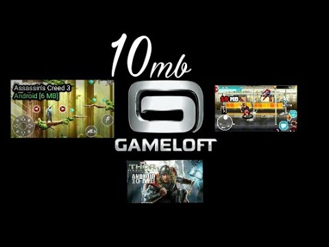 10mb All Gameloft Game (Not Root)