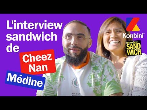 Youtube: On a parlé de vrais sandwichs avec Cheez Nan et Médine mais ça a dérapé | Konbini