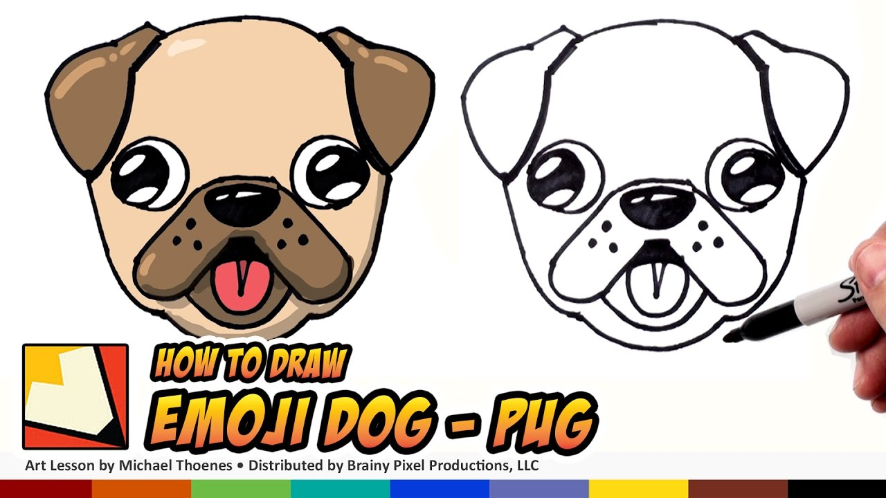 Cute dog drawings - photo#36