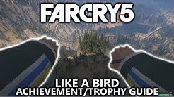 Far Cry 5 - Like A Bird Achievement/Trophy - Use a wingsuit to travel more than 5000m