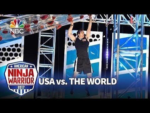Drew Drechel Stage 3 American Ninja Warrior USA V.S. The World 2016