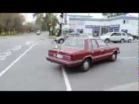 OLD PLYMOUTH RELIANT K CAR STILL GOING