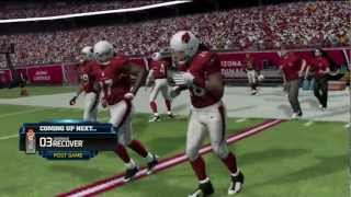 Madden 13 - Online Match - Larry Fitzgerald is a MONSTER! By- xJeRee