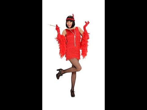 bf3b974d6c Legkeresettebb Webáruház - Elegáns piros charleston ruha női jelmez