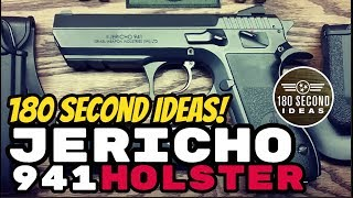 Jericho 941 Holster And Magazine Pouch By Imi Defense Youtube