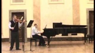 Schumann - Sonata in D minor 1. Ziemlich langsam - Lebhaft (Part 1)