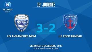 Avranches vs Concarneau full match