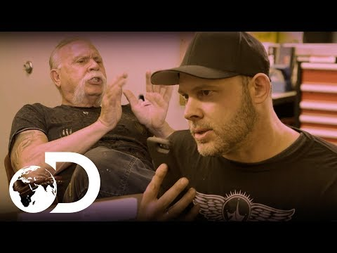 Paul Teutul And Son Have A Personal And Difficult Conversation | American Chopper