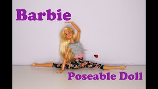 Most Poseable Doll Ever Made To Move Barbie | Fun Toys Unboxing And Review