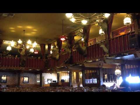 The Big Texan Steak Ranch & Themed Hotel - The 72oz Steak Dinner Challenge! (Amarillo, Texas)