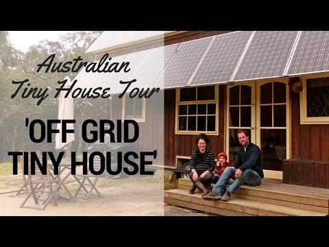 Tiny Houses Australia -  Grid Tiny House Interview & Tour