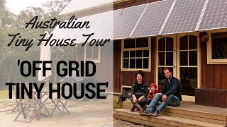 Tiny Houses Australia - Grid Tiny House Interview & Tour