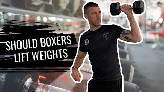 Weight Training For Boxers   Quick Tip on Boxing Training