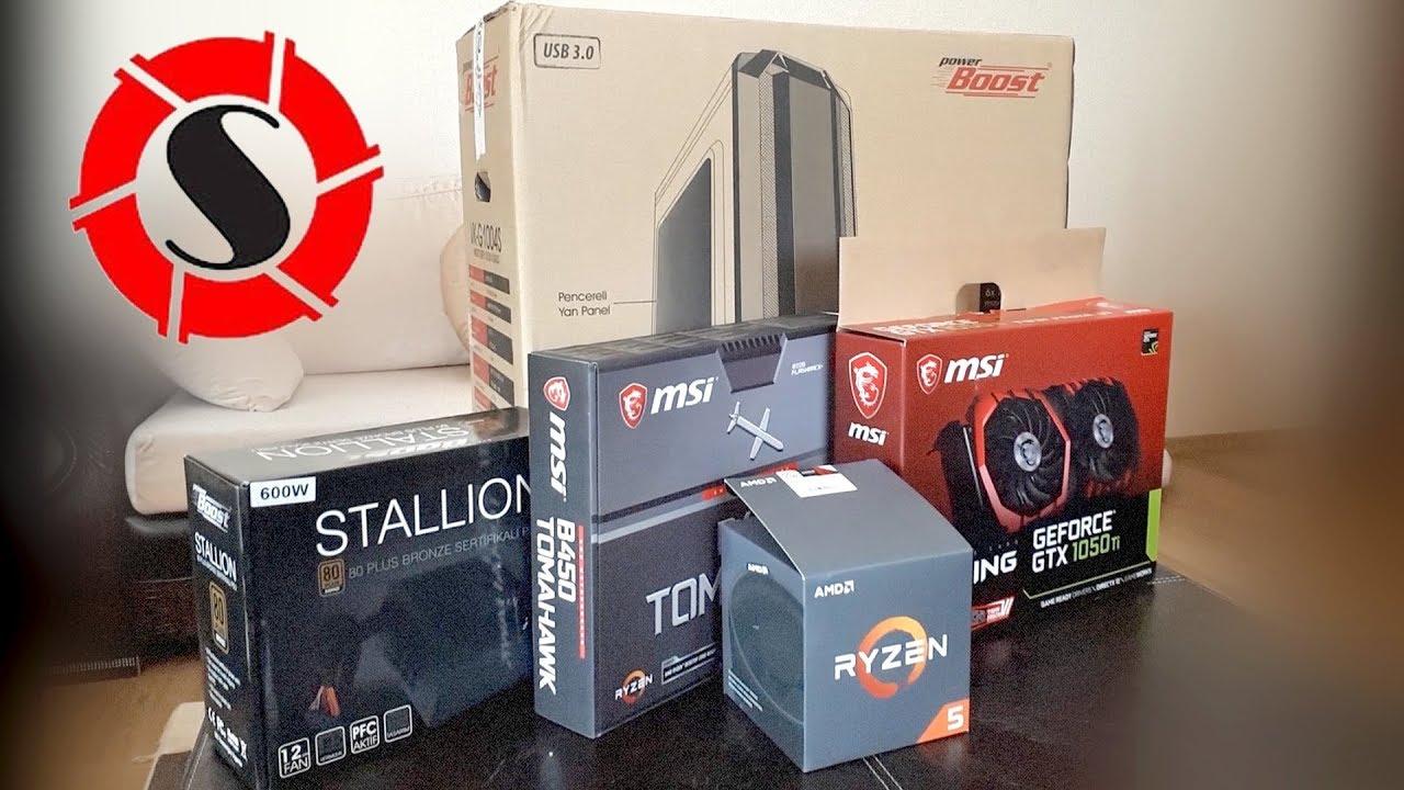 Yeni AMD R5 sistemim    AMD Ryzen 5 2600 / MSI B450 Tomahawk / 16 GB 3200  Ram