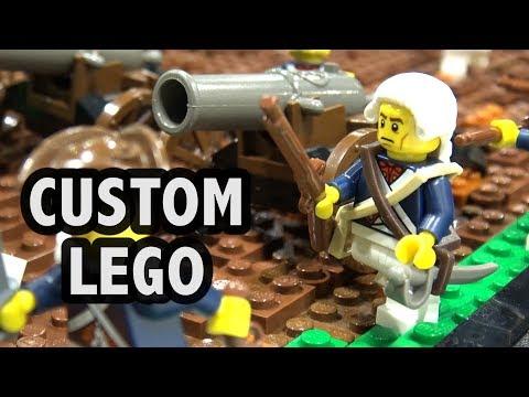 LEGO American Revolutionary War Village Hall | Brickworld Chicago 2017