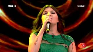 Hilal Coşkun'dan Final Performansı Sesi Çok Güzel 22 Nisan 2015 2017 Video